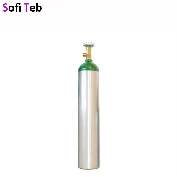 کپسول اکسیژن آلومنیوم 5 لیتری